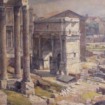 Témplo de Dióscolos. Roma